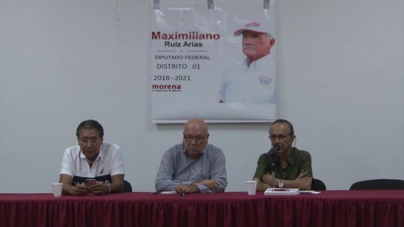 Morenistas honran la memoria de Maximiliano Ruiz