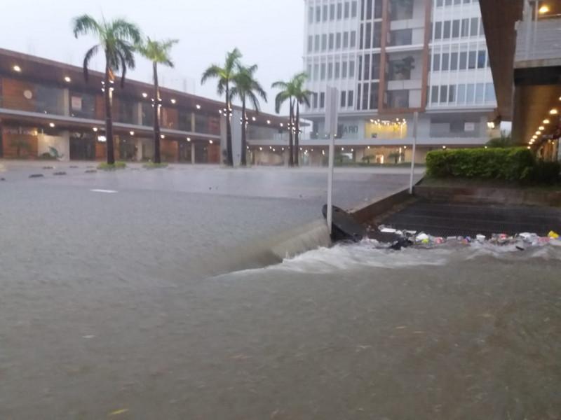 Mazatán bajo el agua