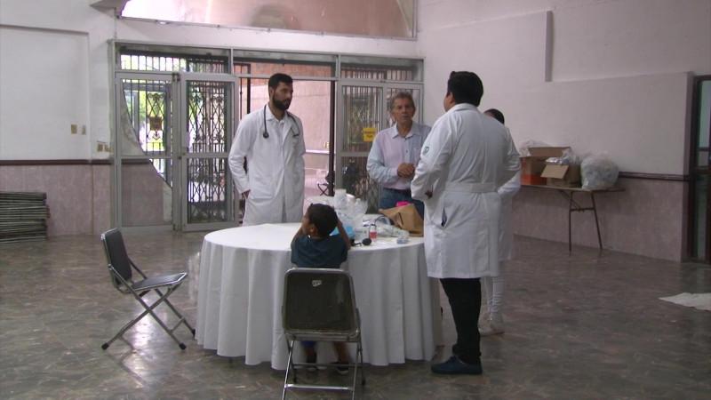 Habilitan albergue del Club de Leones en Mazatlán