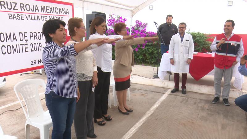 Cambian Comité Cruz Roja de la Villa de Ahome
