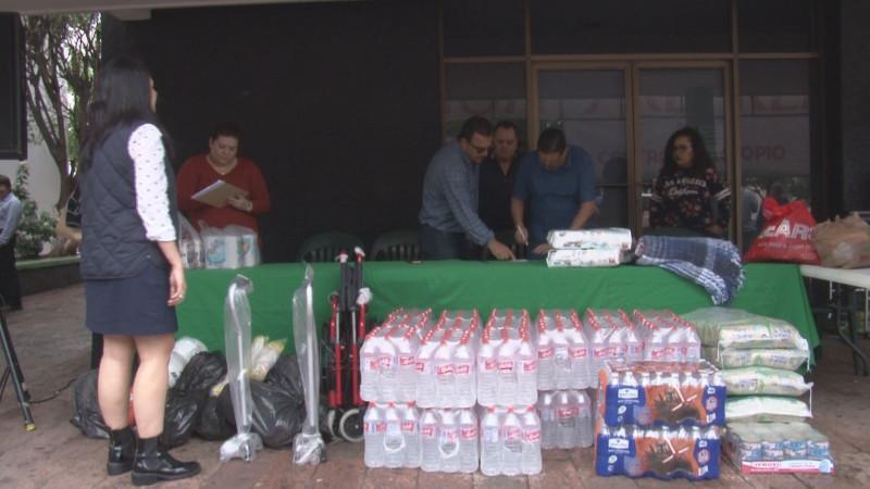 PRI Sinaloa apoya a personas afectadas por lluvia