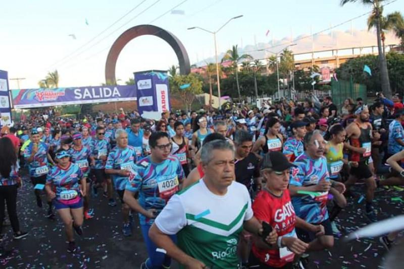 Inicia la fiesta del Maratón Pacífico Mazatlán 2019