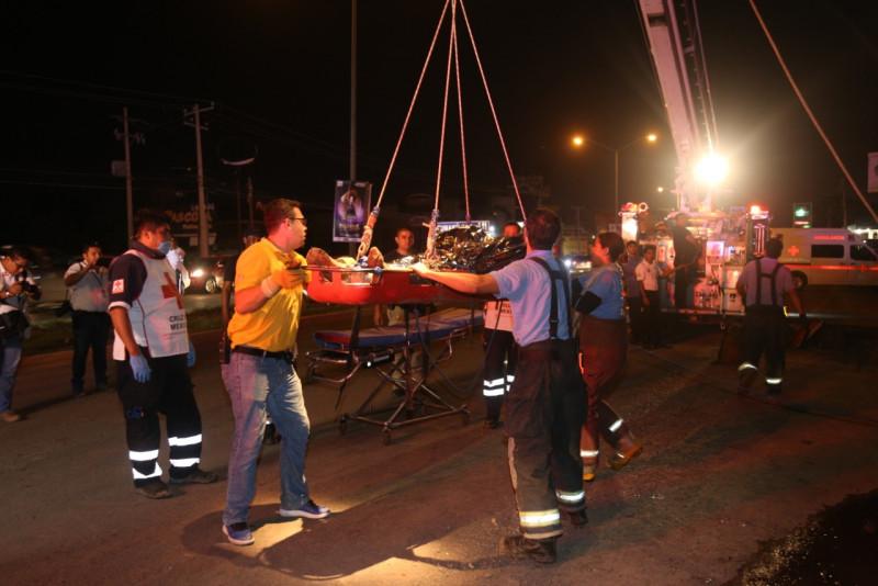Participa la SSP en rescate de trabajadores de la construcción