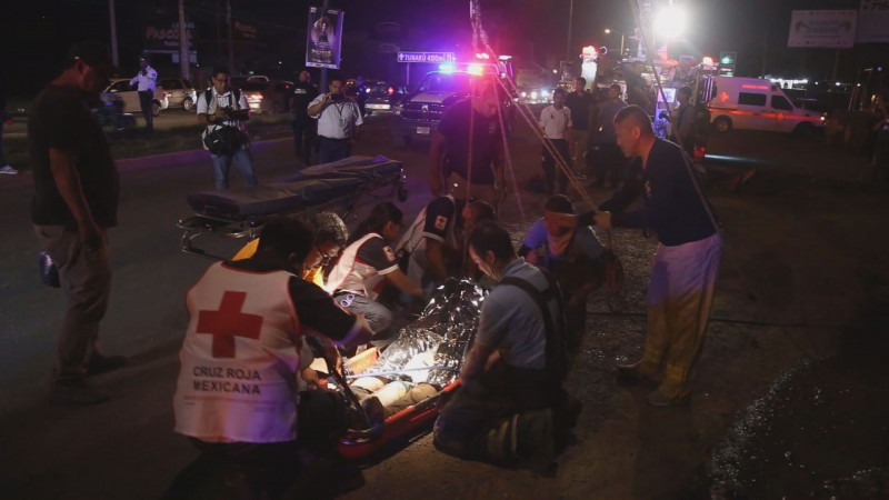 Agilizan trabajos en colector del Pedro Infante para evitar accidentes