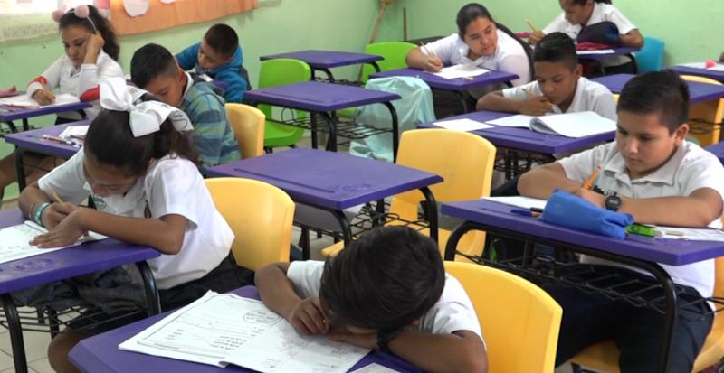 Escuelas afectadas por lluvias regresan a clases con normalidad