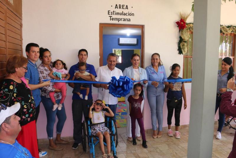 Inauguran sala de estimulación temprana en el CRIM Rosario