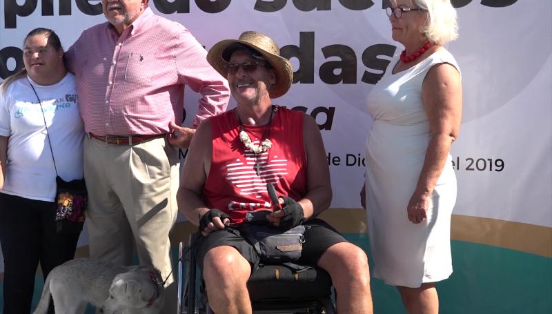 Canadiense Warren Schlosser llega a Mazatlán