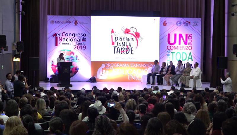 Inauguran en Mazatlán 1er Congreso Nacional de Primera Infancia