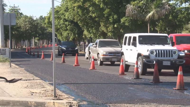 Ayuntamiento de Culiacán aplica recursos de forma discrecional en trabajos de bacheo y reencarpetado