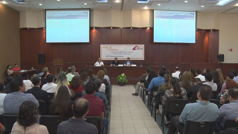 Realiza Congreso de Sinaloa conferencia sobre violencia política de género