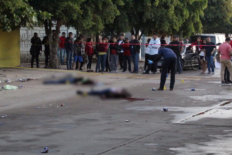 Asesinan  a dos personas en Navolato, tras riña en medio de una reunión