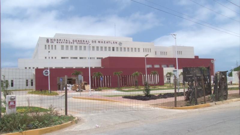 En enero se inaugura nuevo hospital general en Mazatlán