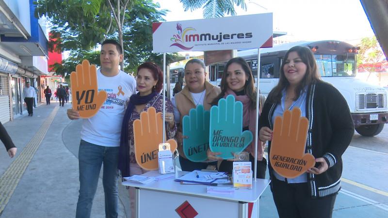 Activismo contra violencia de género