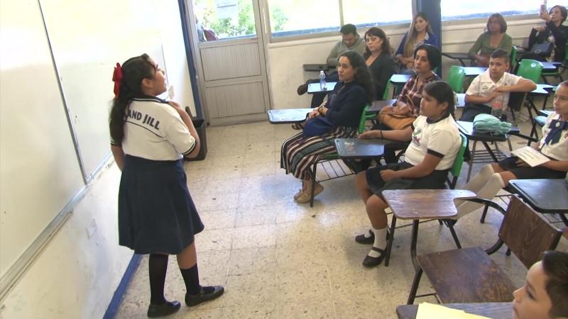 Realizan certamen del parlamento infantil en Mazatlán
