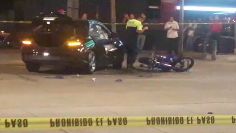 Muere motociclista al impactarse contra un automóvil