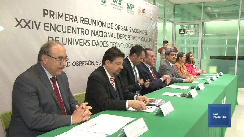Ciudad Obregón será sede del Encuentro Nacional de Universidades Tecnológicas