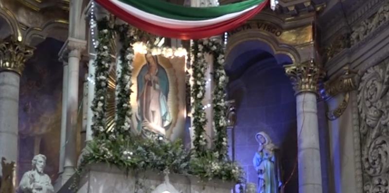 Miles de Mazatlecos festejan el Día de la Virgen de Guadalupe