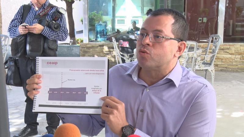 CEAIP solicita que se asigne mayor presupuesto