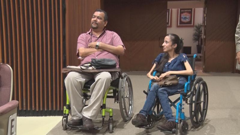 Sólo personas con discapacidad permanente entran al programa de apoyos