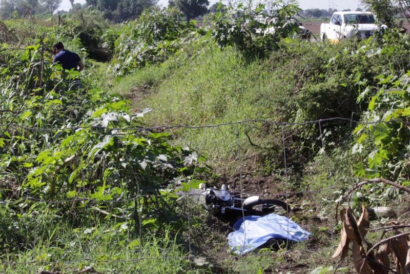 Falle menor en accidente de motocicleta