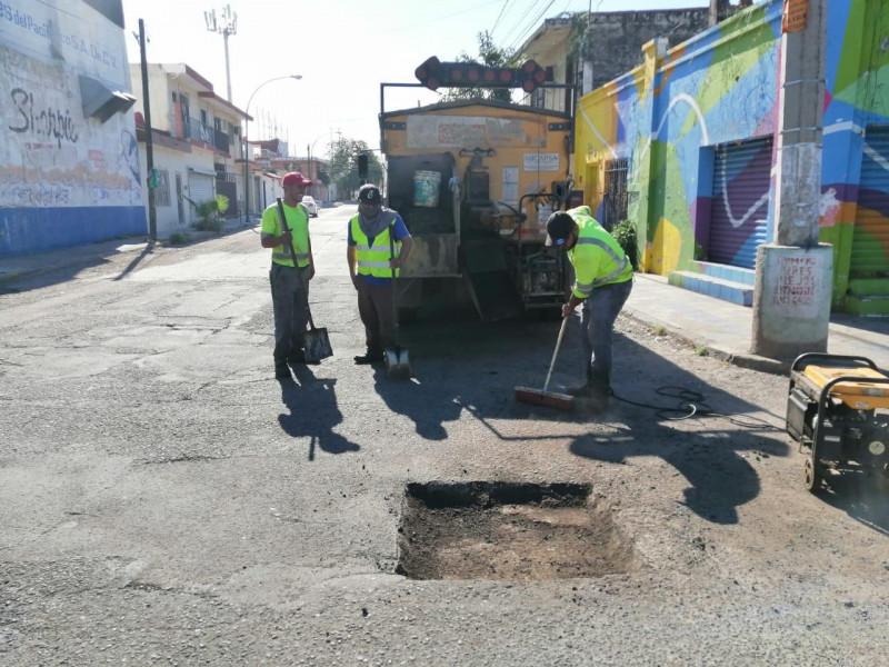 Tras críticas el Ayuntamiento de Culiacán intensifica bacheo