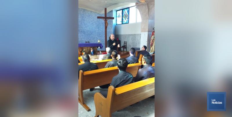Franco Coppola, Nuncio Apostólico se encuentra en Ciudad Obregón