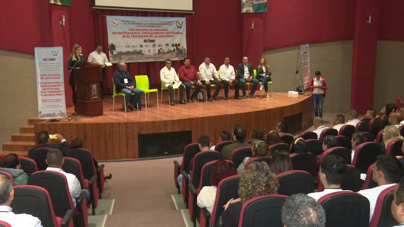 Arranca Foro Nacional de Adicciones en Los Mochis