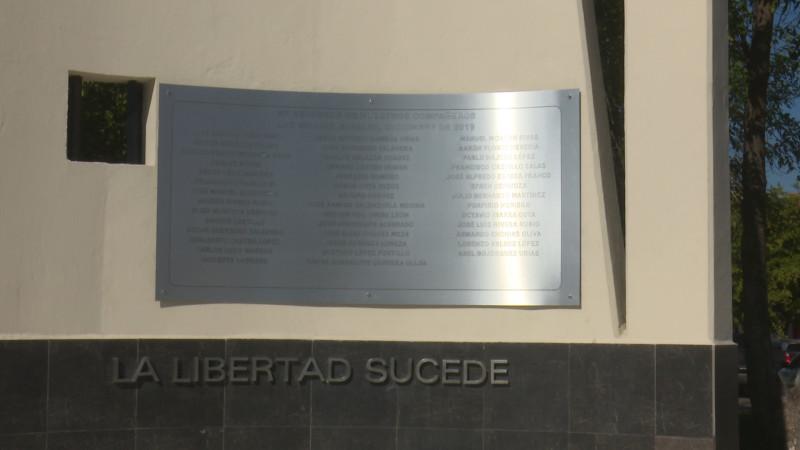 Restauran monumento a la Libertad de Expresión