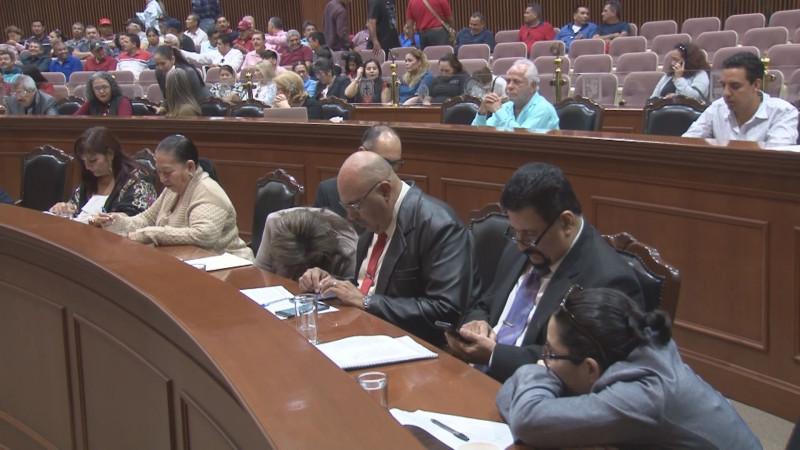 Inician en el Congreso la discusión de los valores catastrales para los 18 municipios de Sinaloa