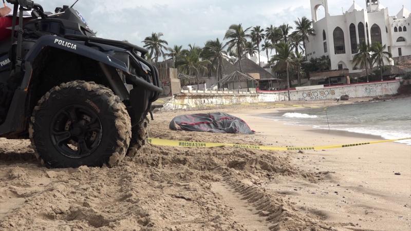 Localizan cuerpo sin vida en playas mazatlecas