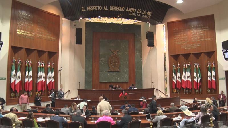 Aprueba congreso dictámenes de ley de ingresos de los 18 municipios