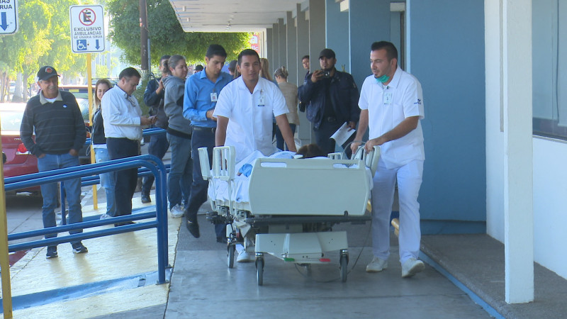 Simulacro en Hospital Fátima