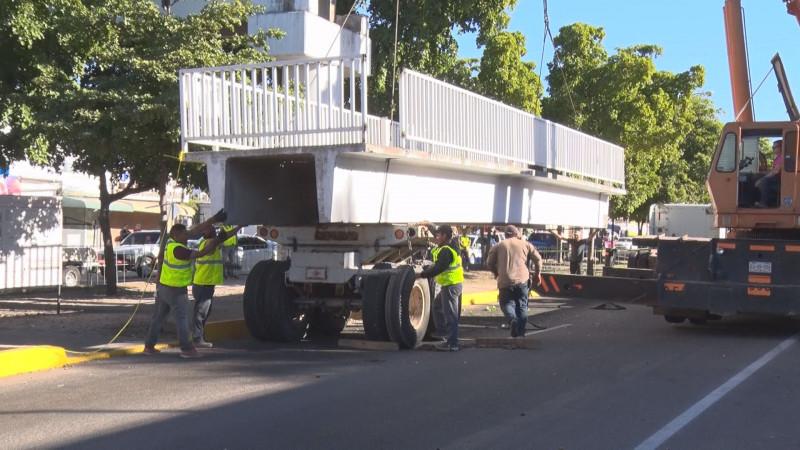 """Causa inconformidad retiro de puente """"anti peatonal"""""""