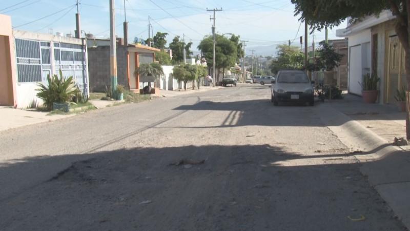 Calles del Fraccionamiento Nakayama muy dañadas