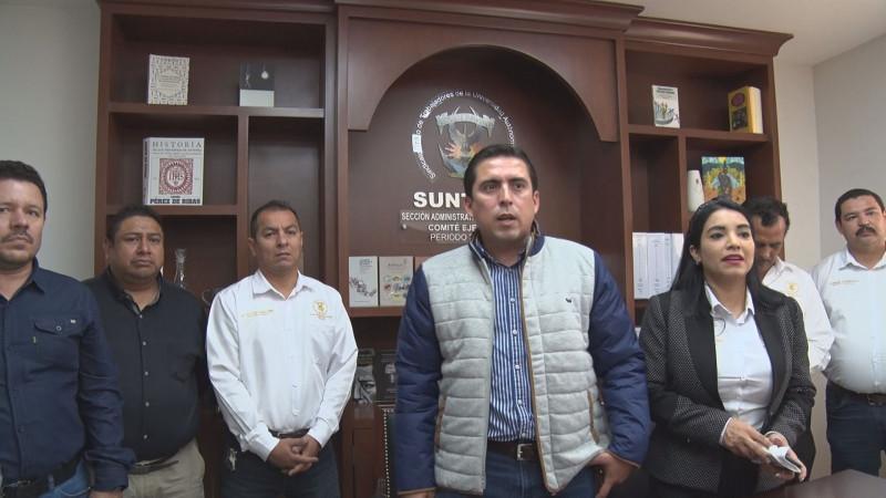 SUNTUAS reconoce esfuerzo de autoridades universitarias para cumplir con pago de aguinaldos