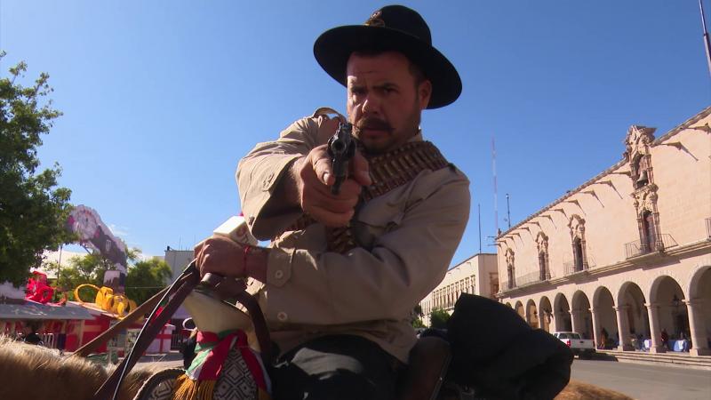 """""""Vive"""" en Durango Pancho Villa"""