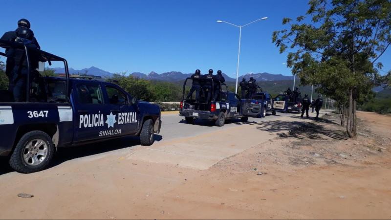 Continúa presencia de policía estatal en Choix