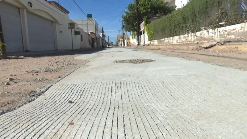 Concluyen obras de drenaje en callejones