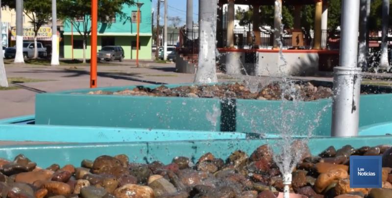Continúan los Trabajos de Modernización de Fuentes y Cascadas del Municipio