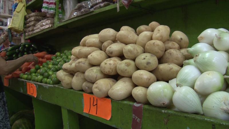 Verduras con incremento en precio al inicio de 2020