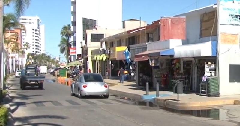 Confirman autoridades obra de rehabilitación de Avenida Camarón - Sábalo