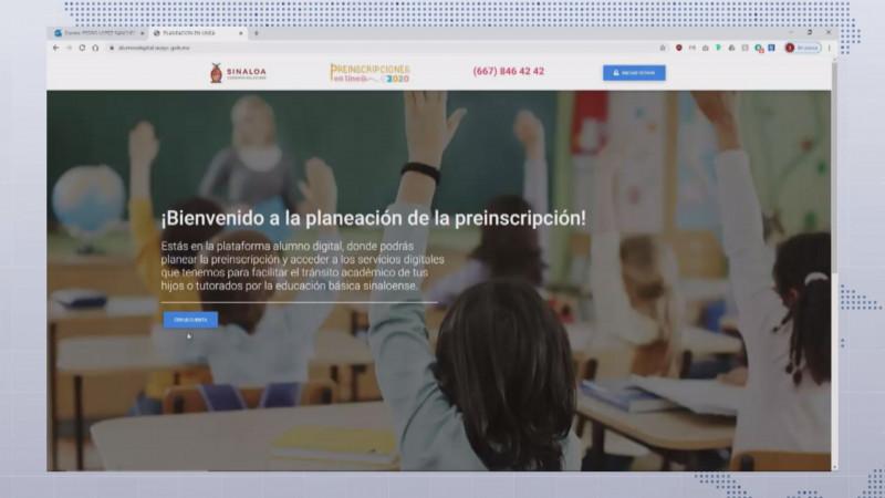 Van 54 mil alumnos preincritos con el nuevo modelo en línea 2020