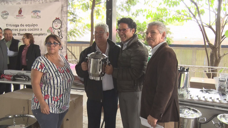 En Sinaloa apoyan programa escuelas de tiempo completo