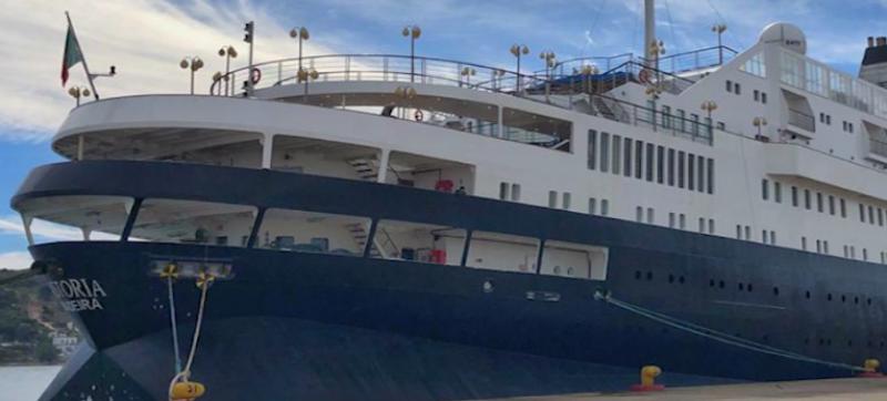 """Arriba por primera vez crucero """"Astoria"""""""