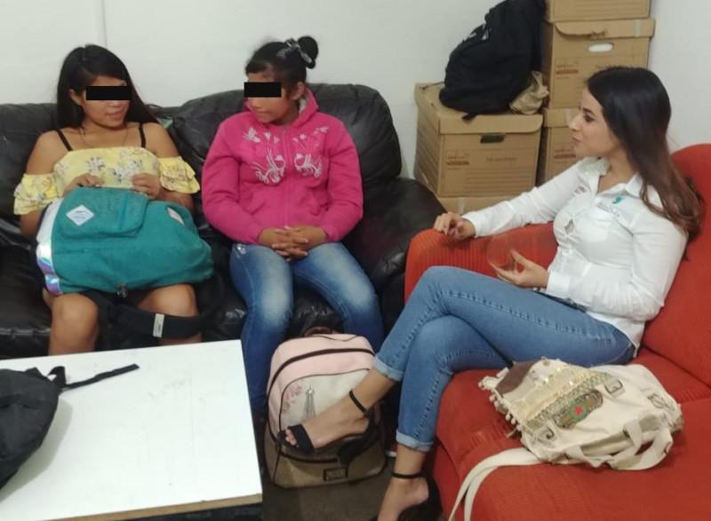 Encuentran a menores extraviadas de Escuinapa