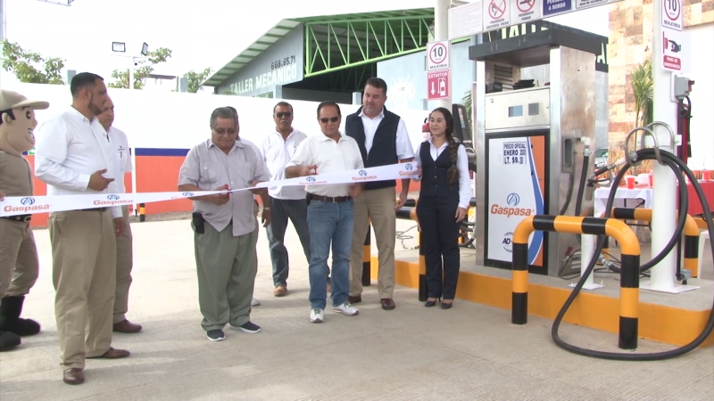 GASPASA  inaugura en Mazatlán estación de gas ecológica