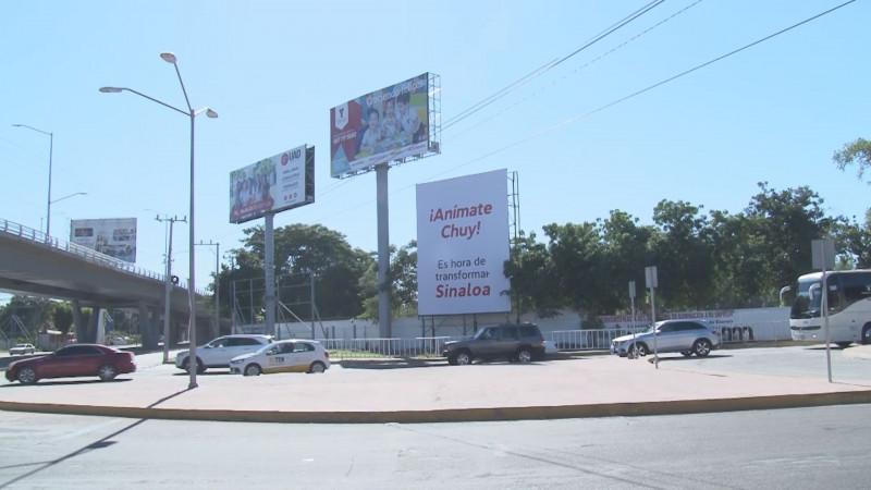 Podría el PRI Sinaloa interponer denuncia por espectaculares