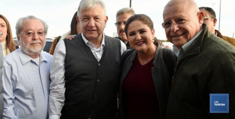 Solicita Alcaldesa de Hermosillo a AMLO soluciones de infraestructura y vialidad