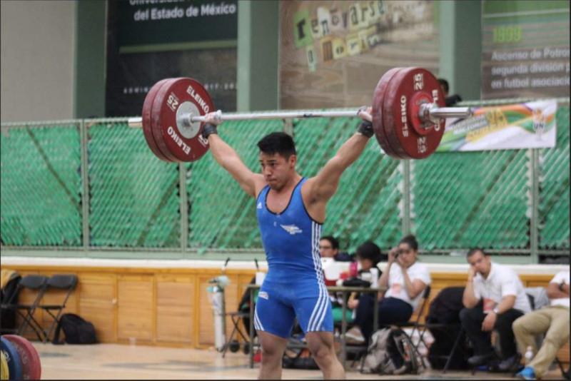 Jonathan Muñoz halterista de la UAS busca boleto olimpico