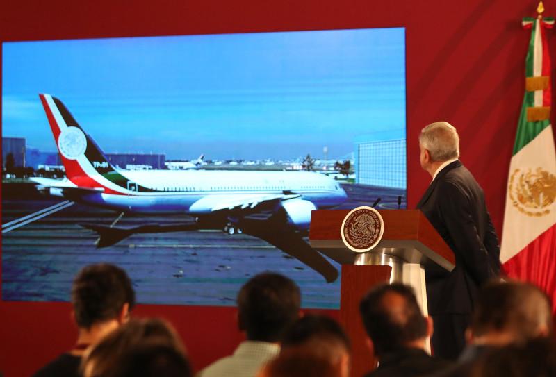 Regresa el Avión Presidencial, no se vendió